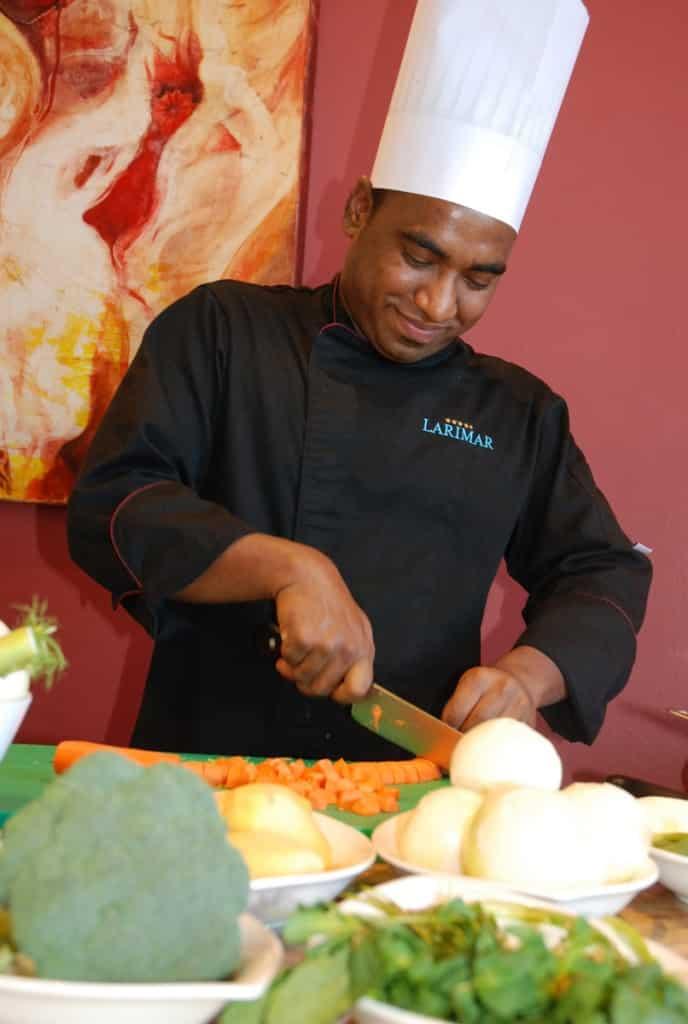 Ayurvedische Küchen im Hotel Larimar