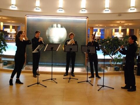 Musikalischer Auftakt im Hotel Larimar
