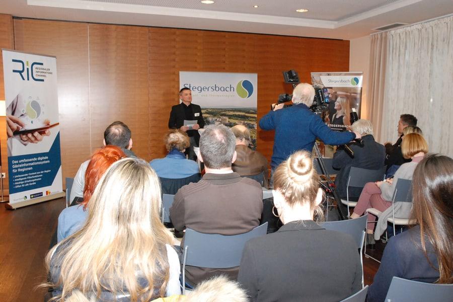 Pressegespräch mit Armin Assinger im Hotel Larimar