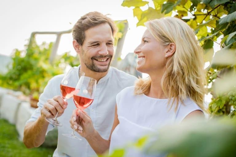 Kulinarische Weine von der Region