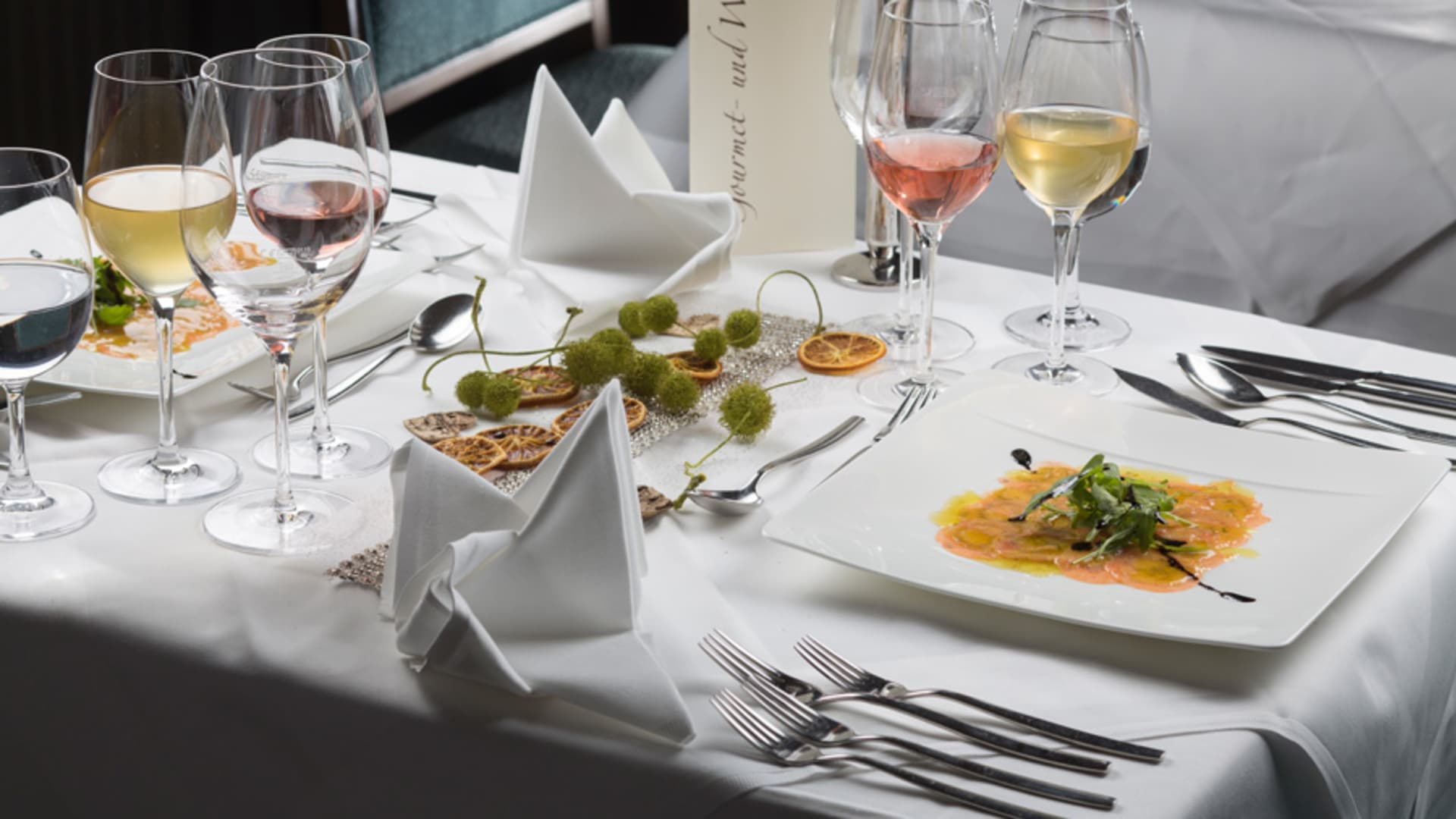 Sternemenü am Gourmet- und Weinfestival