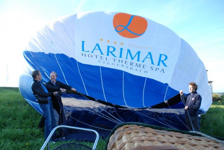 Larimar Therme Spa Stegersbach Heißluftballon