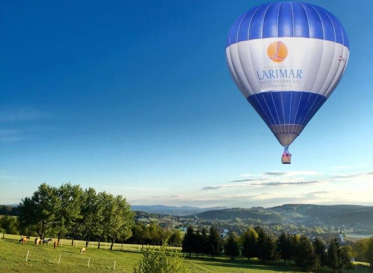 Larimar Heißluftballon im Südburgenland