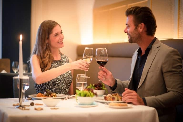 Romantisch Abendessen im Burgenland