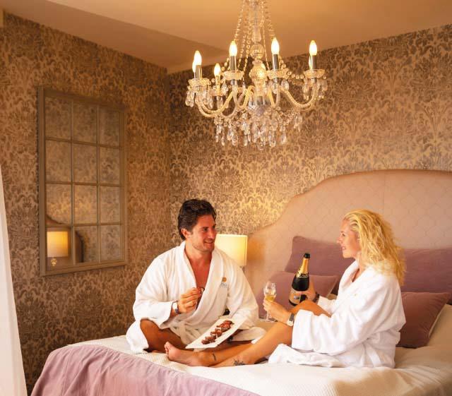 Romantikzimmer im Top Hotel Larimar