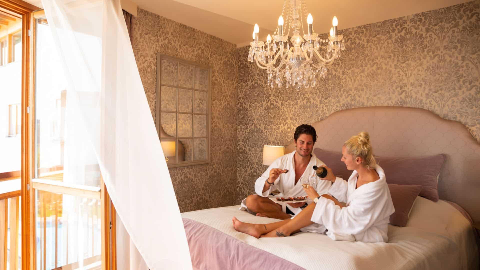 Romantikzimmer perfekt geeignet für Paare