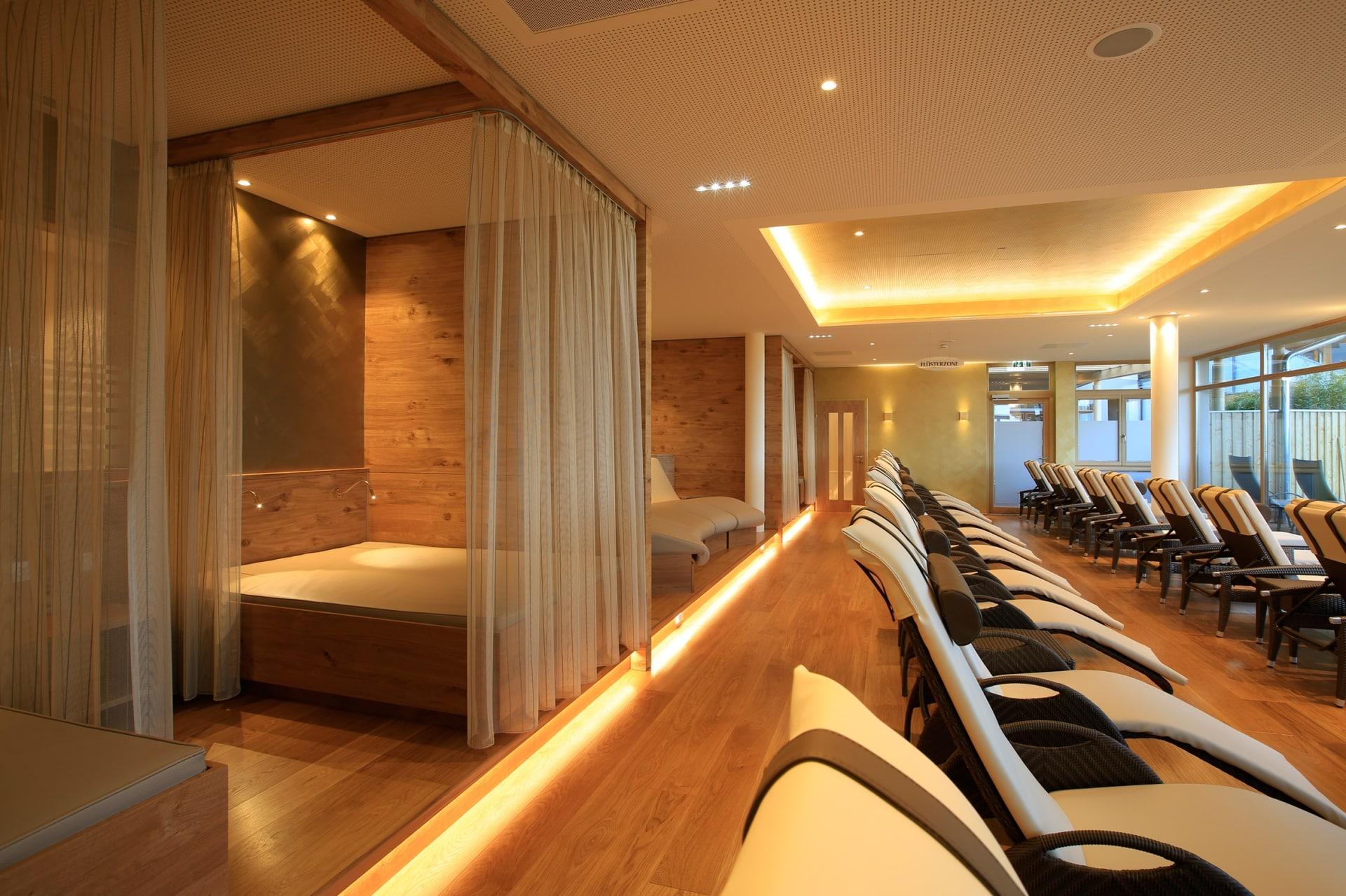 Raum für Ruhe und Entspannung