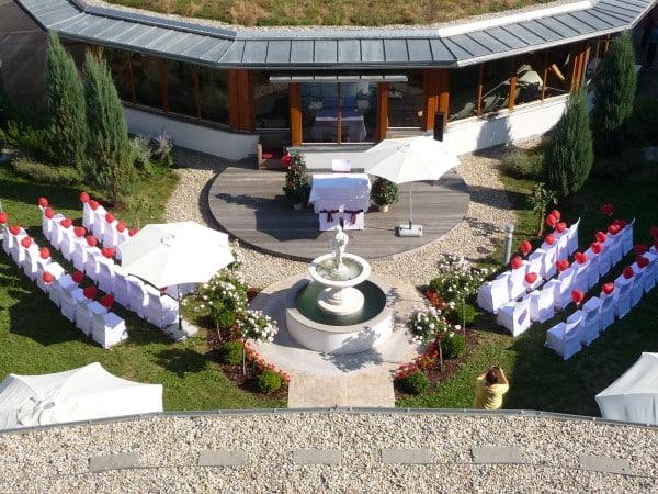 Stimmungsvolles Ambiente für Sie uns Ihre Gäste