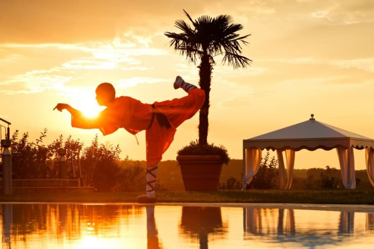 Shaolin Mönche im Larimar