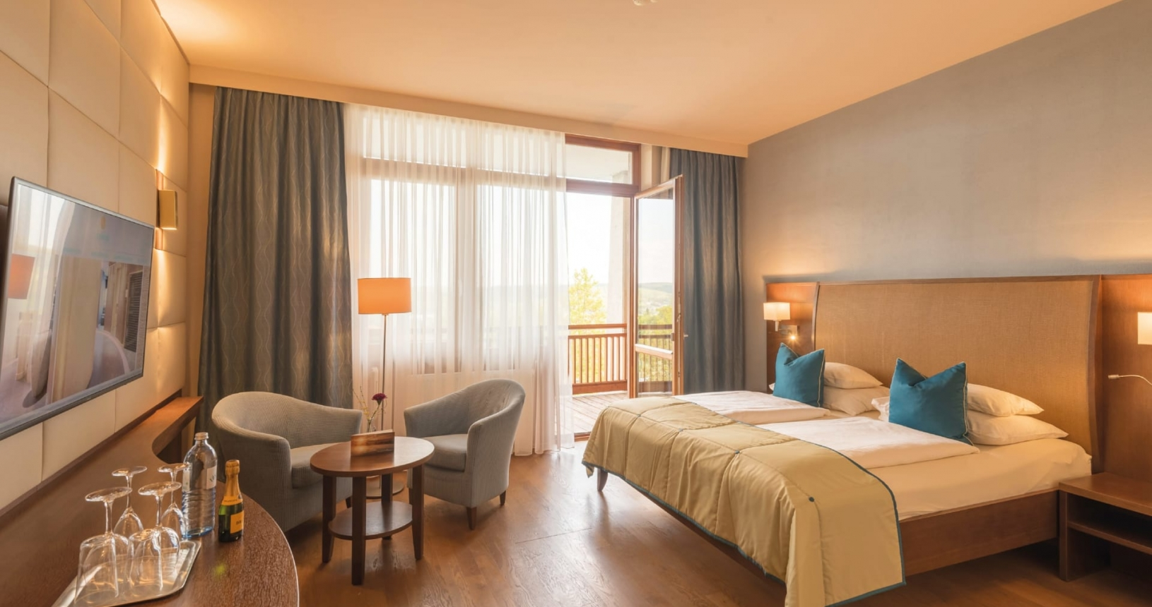 Zimmer Thermenetage im Hotel Larimar