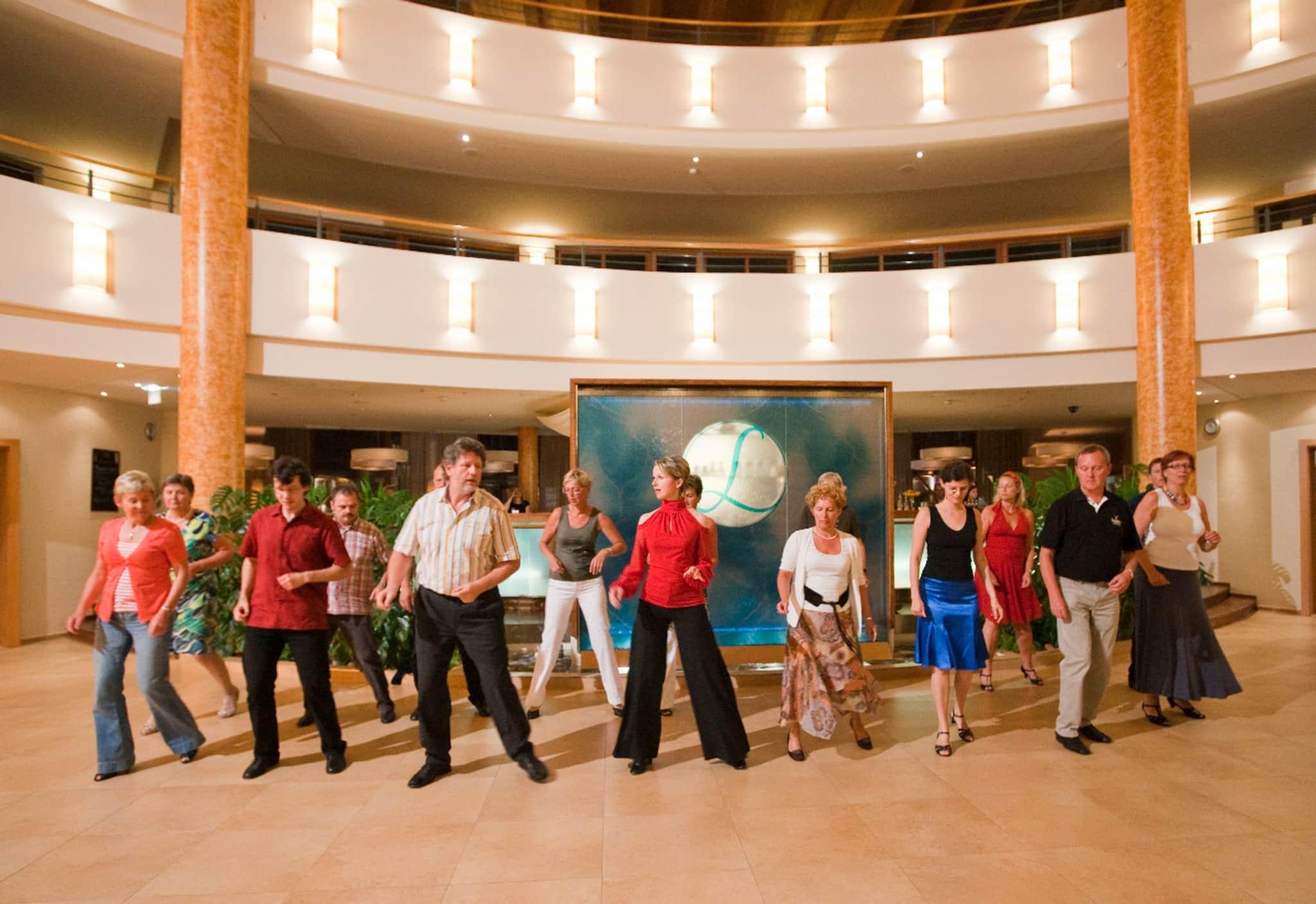 Tanzen für Einzelpersonen im Südburgenland im Hotel Larimar