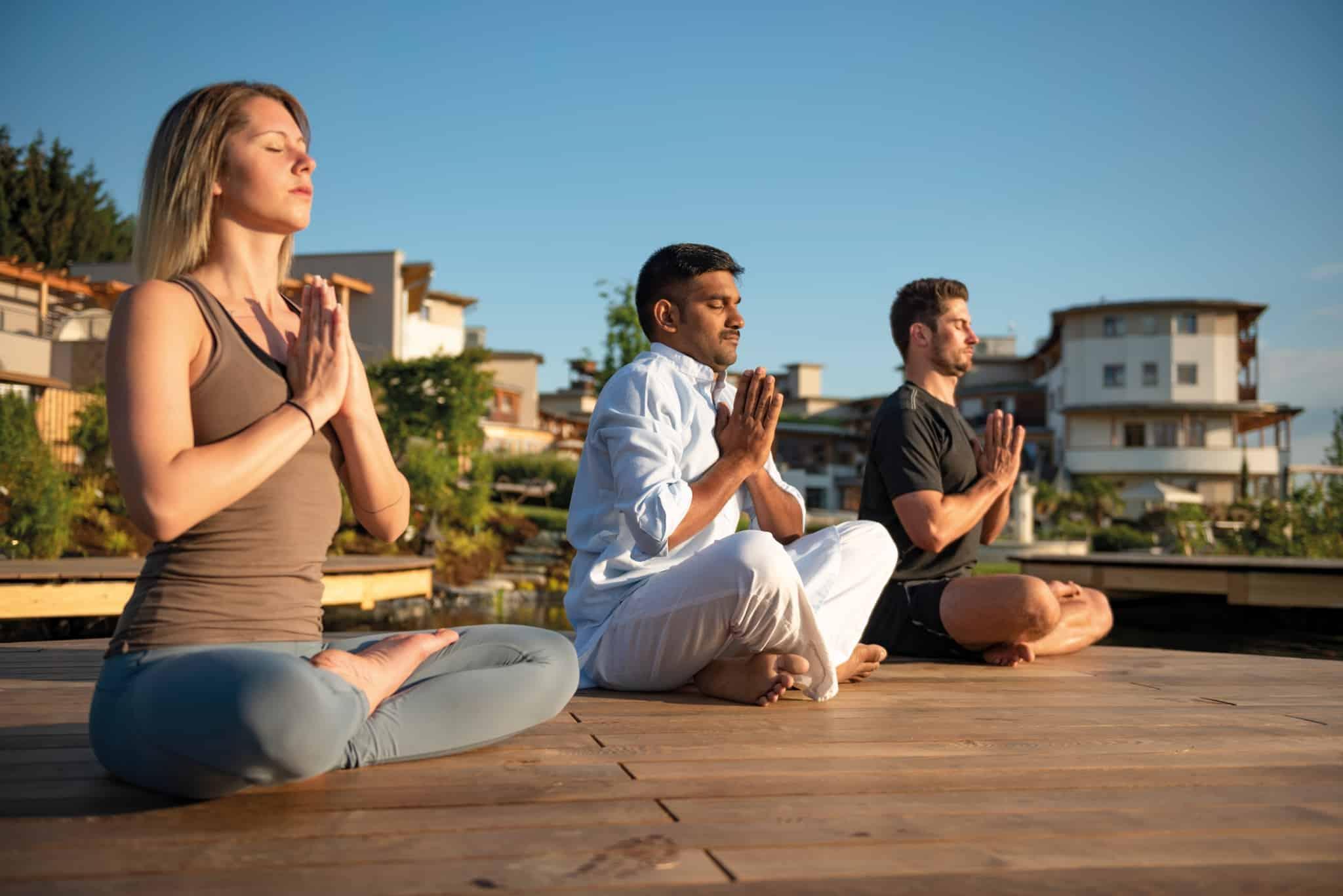 Yoga, der Weg zum inneren Frieden