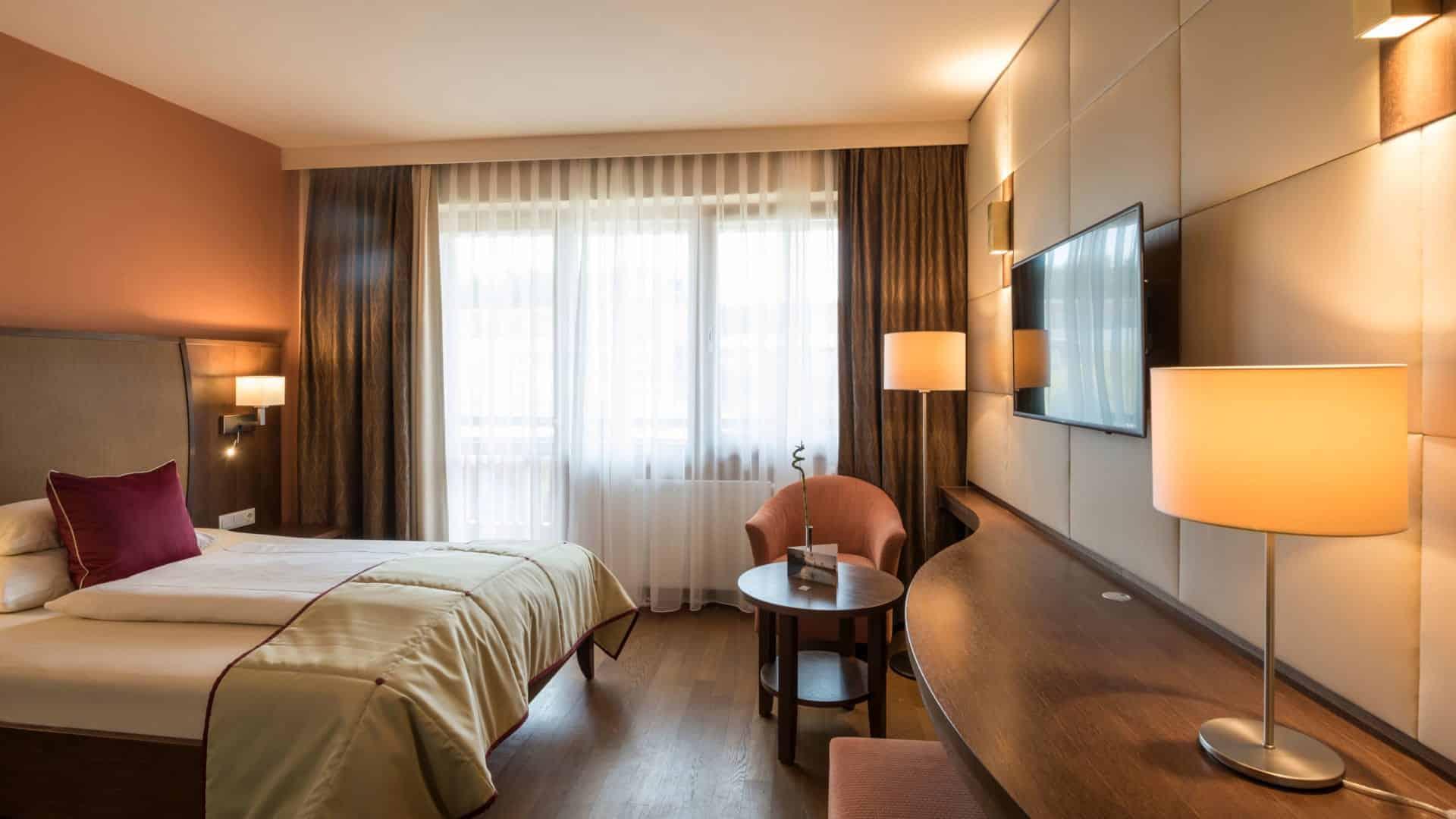 Das Grad Lit Einzelzimmer Erde im Hotel Larimar