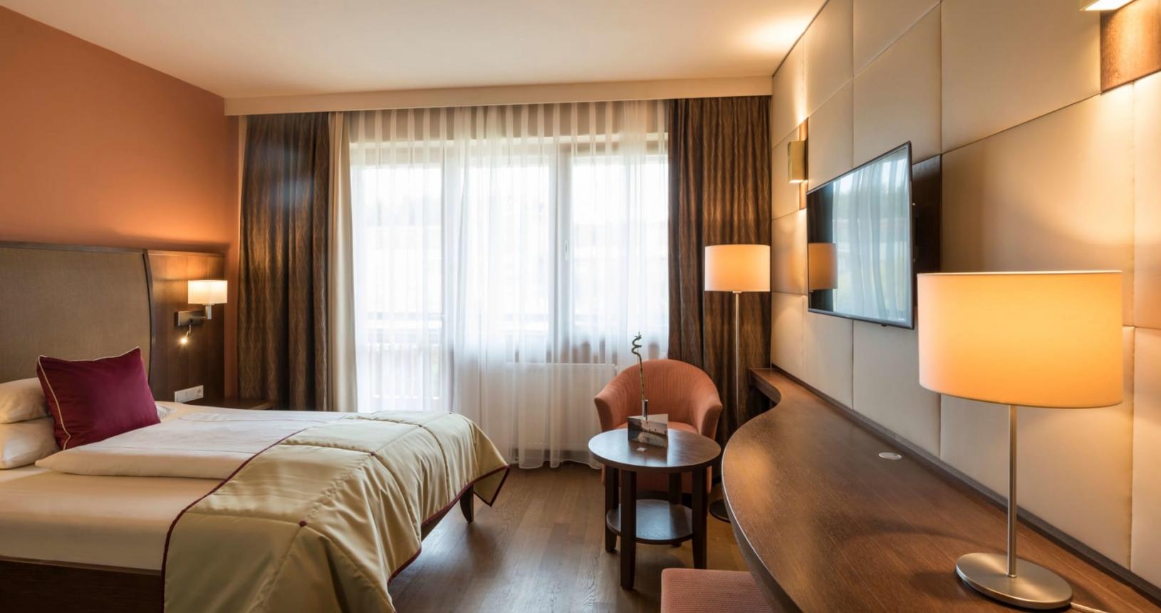 Grand Lit Einzelzimmer Erde im Hotel Larimar