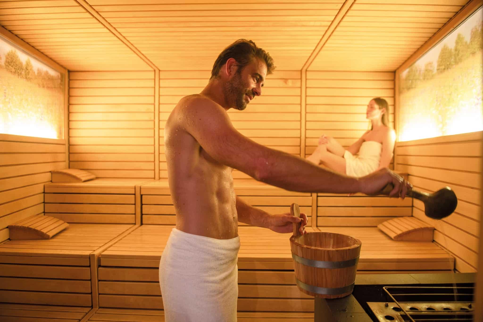 Energie und Wärme in der Larimar Saunawelt