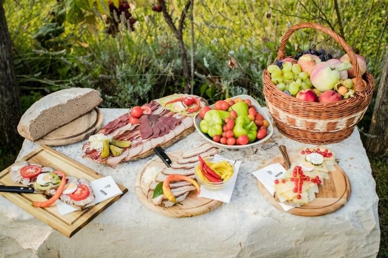 Kulinarische Jause aus der Region