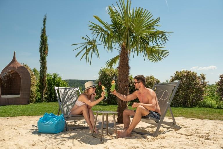 Larimar-Beach im Burgenland im Hotel Larimar
