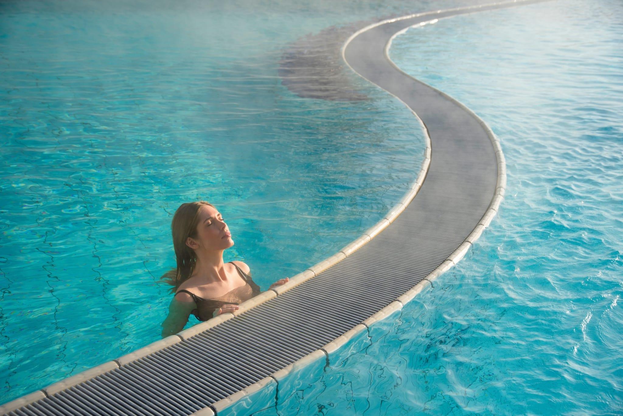 Badischer Meerwasserpool im Hotel Larimar