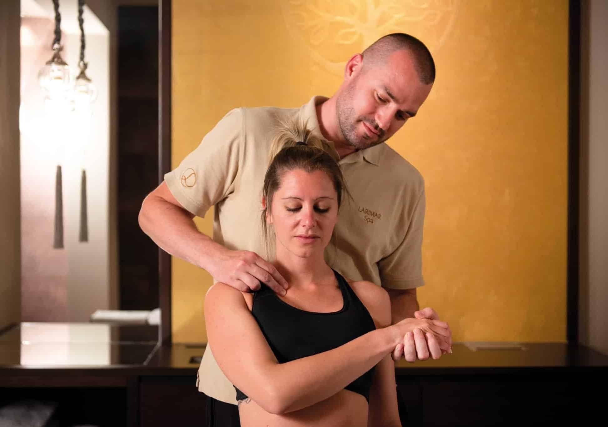 Physikalische Behandlungen im Hotel Larimar