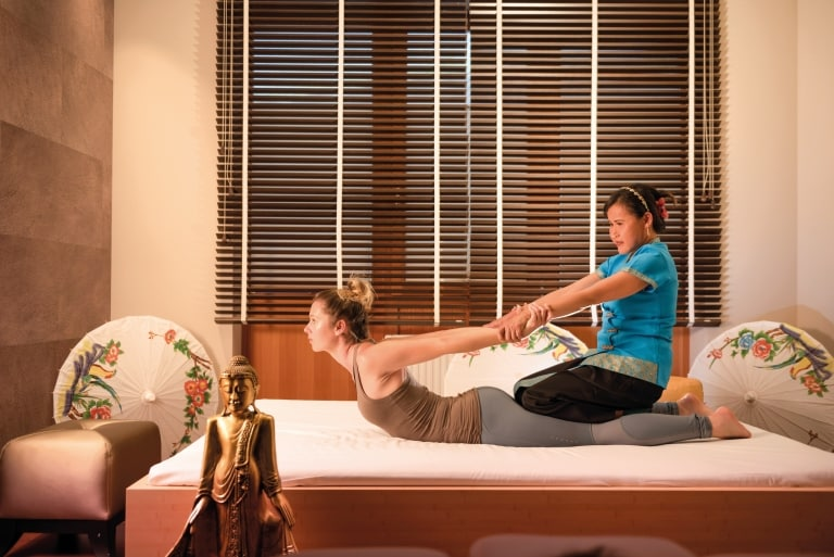 Thai-Königs-Massage im Larimar Premium-Spa