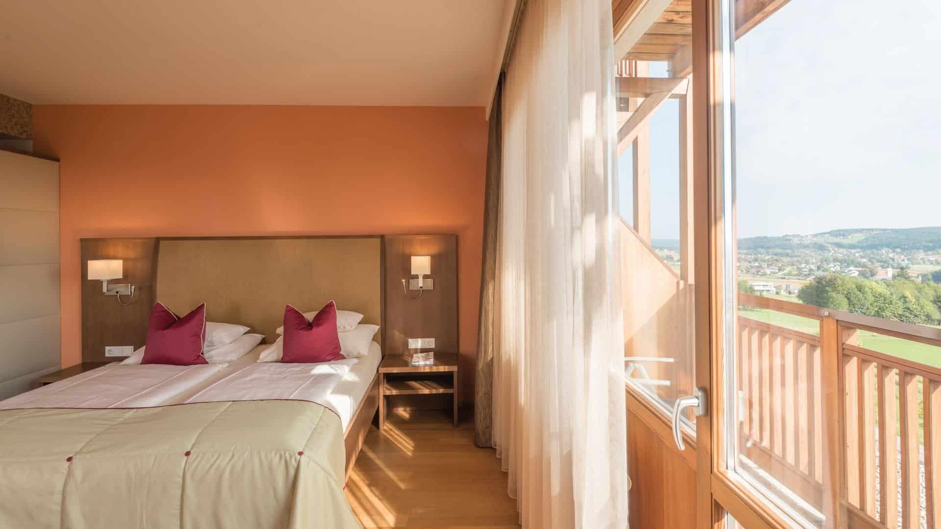 Doppelzimmer Panorama im Burgenland