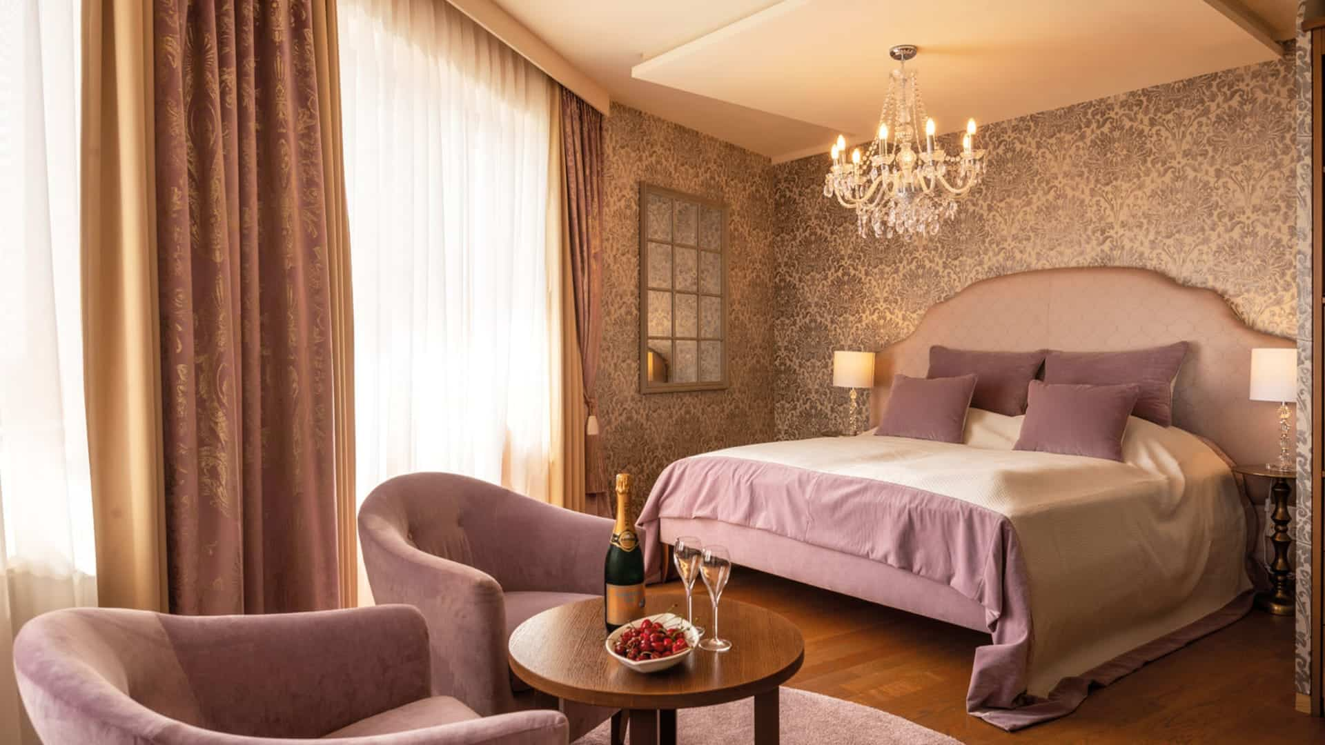 Romantik Schlafzimmer im Hotel Larimar