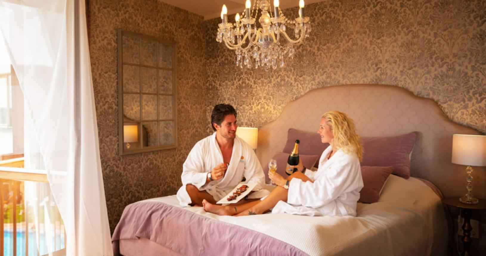 Romantikzimmer für Pärchen im Tophotel Larimar