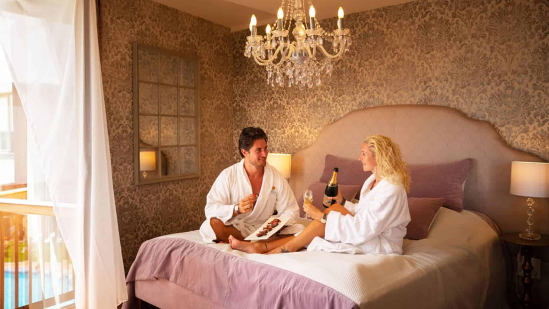 Romantikzimmer für Paare im Wellnesshotel Larimar