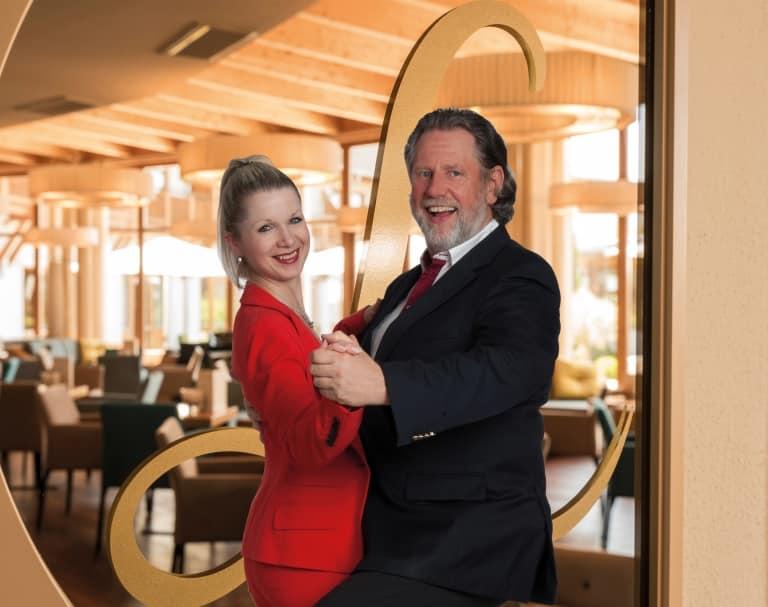 Tanzen mit Werner Dietrich im Hotel Larimar