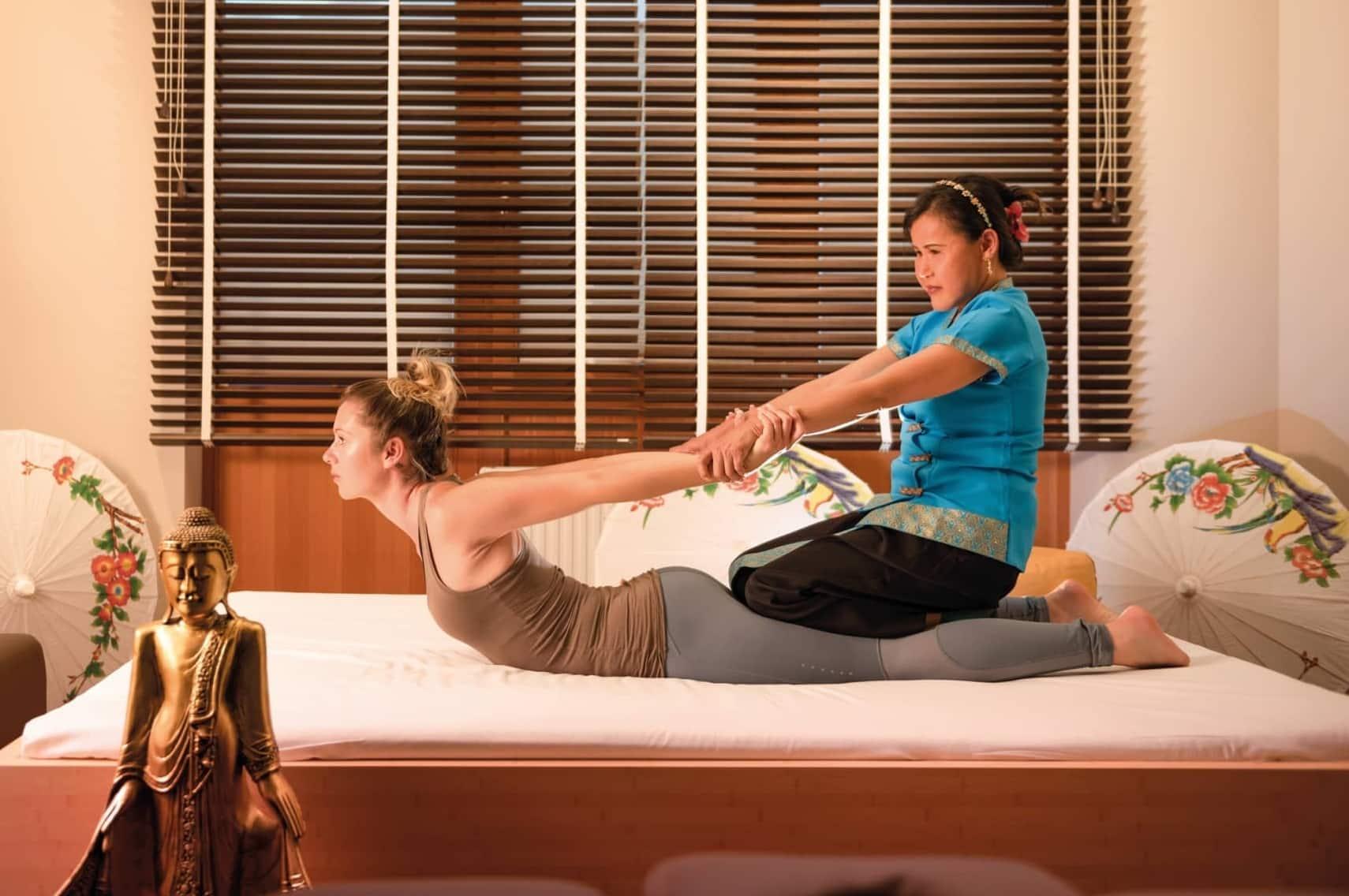 Thai-Königs-Massage