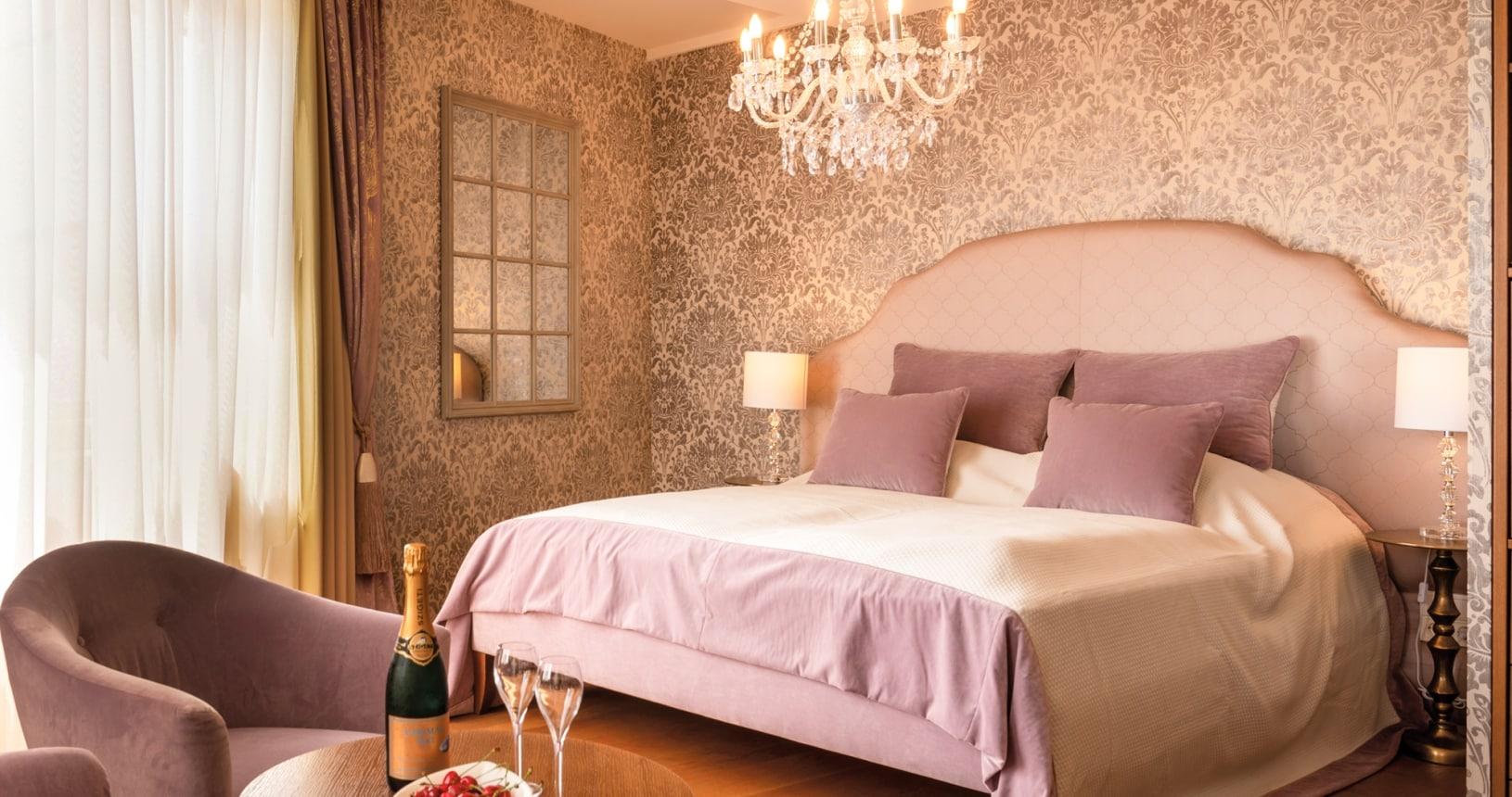 Romantikzimmer im Hotel Larimar